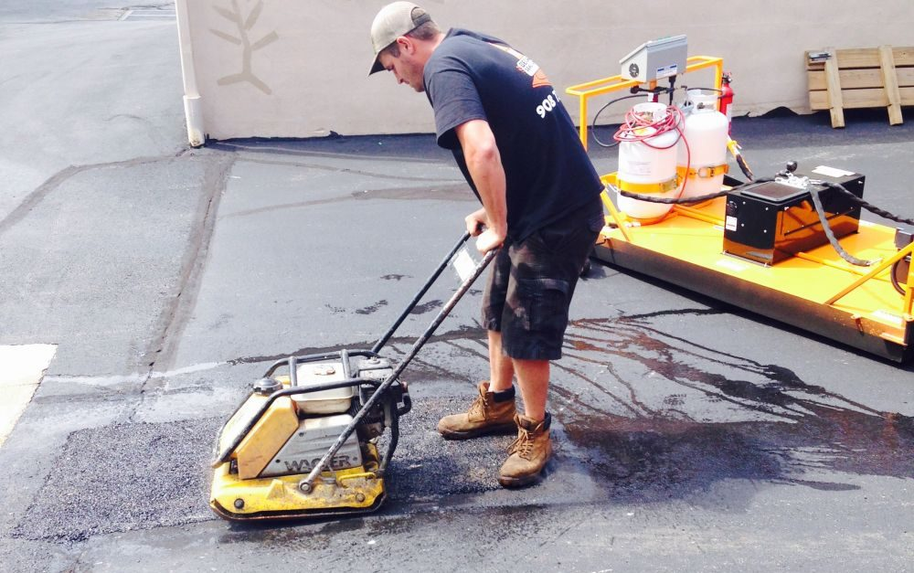 What is infrared asphalt repair