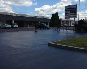 Parking Lot Sealcoating in NJ