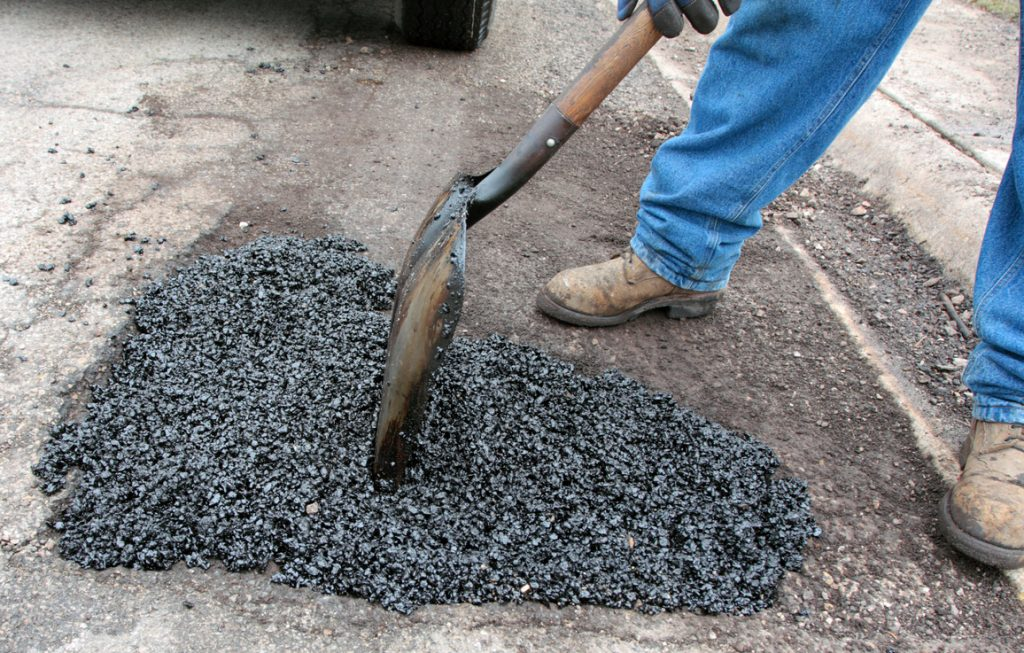 synthetic asphalt repair